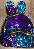 Sequin Bunny Backpack