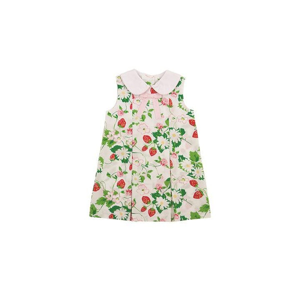 Beaufort Bonnet Cape Cod Collar Dress- Greenwich Garden