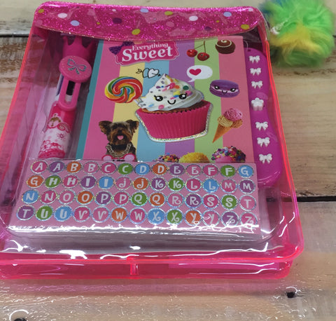 Sweet Crush Mini Secret Locking Journal