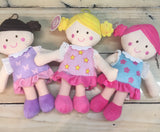 Plush First Baby Dolls