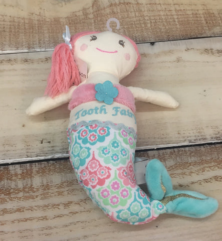 Maison Chic Coral the Mermaid Tooth Fairy Pillow
