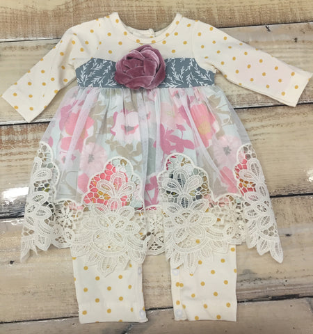 Girls' Goldenrod Romper