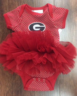 Georgia Red Dot Tutu Creeper