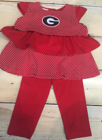 Georgia Ruffle Top and Pants Set