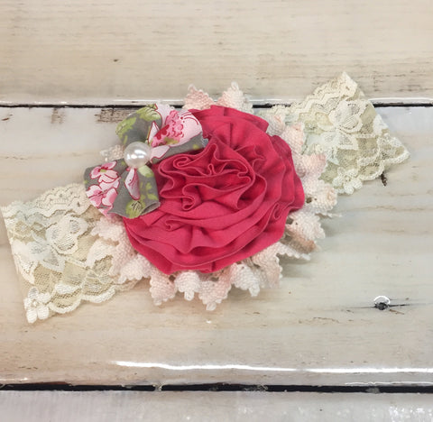 Persnickety Thea Flower Headband