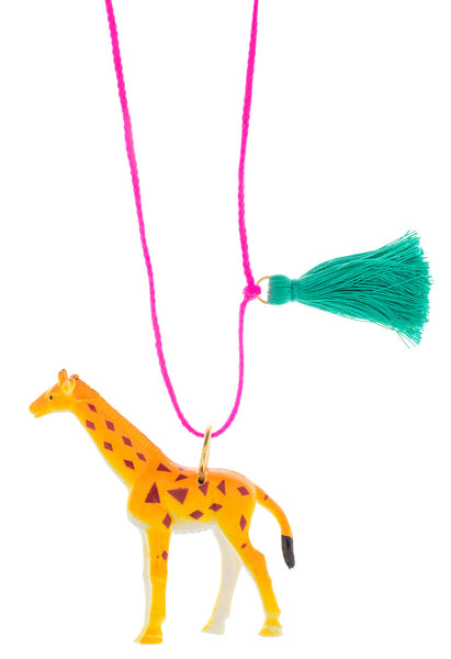 Little Lux Jim The Giraffe Necklace