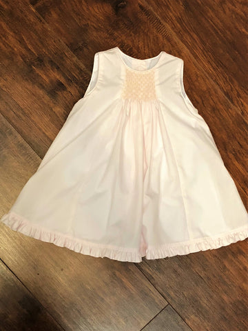 Bailey Boys Light Pink Smocked Baby Float Dress