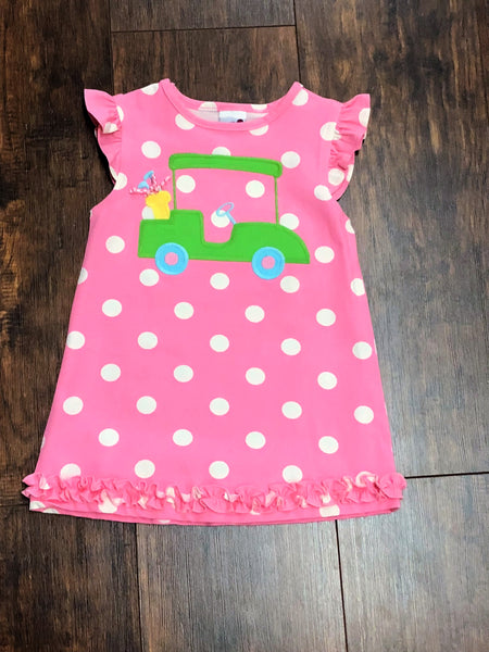 Bailey Boys Golf Cart Knit Dress