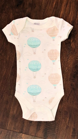 Modern Baby Zero to Three Months Printed Onesie