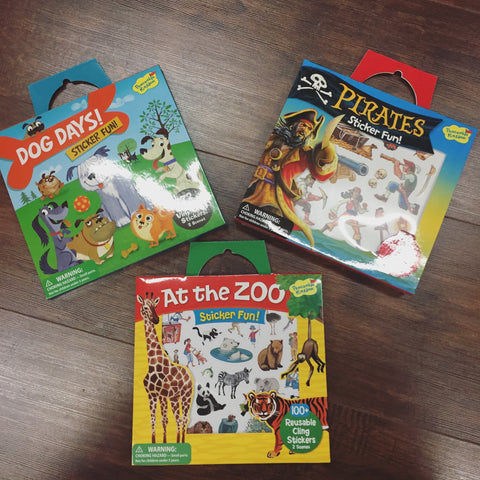 Peaceable Kingdom Sticker Sets