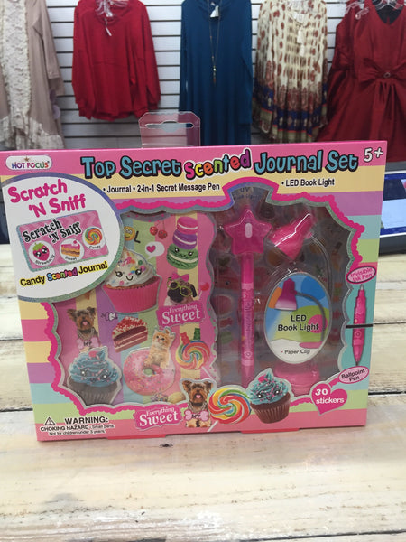 Cupcake Scented Journal and Pen Set