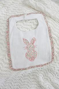 Little English Bunny Liberty Bib