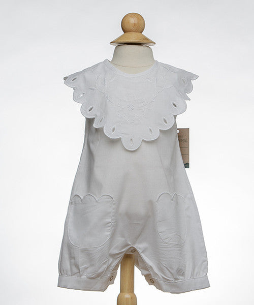 The Oaks Mary Girls Bibbed Romper