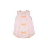 Beaufort Bonnet - Annie Apron Dress - Plantation Pink