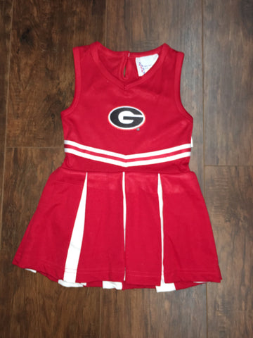 Georgia Bulldog Cheerleader Outfit