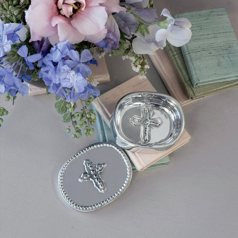 Beatriz Ball Baby Cross Keepsake Box