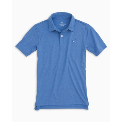 Southern Tide Blue Performance Polo