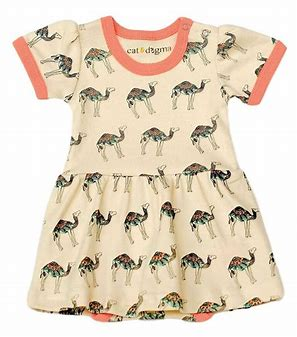 Cat & Dogma Camel Dress