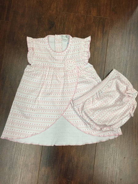 Kissy Kissy Doll House Dreams Sleeveless Dress with Diaper Cover