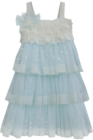 Isobella & Chloe Sky Sweet Serenade Empire Waist Dress