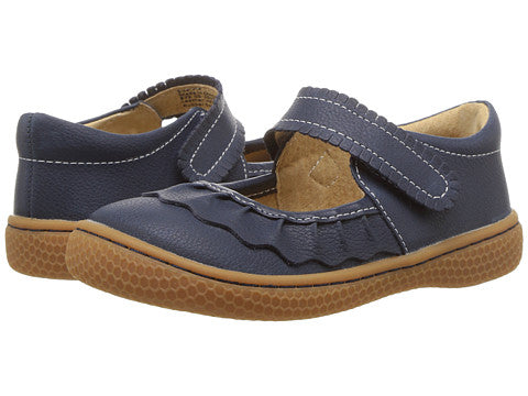 Livie and Luca Ruche Navy Shoes