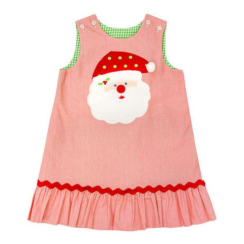 Bailey Boys Santa Rev. Ruffle/Rick Rack Jumper