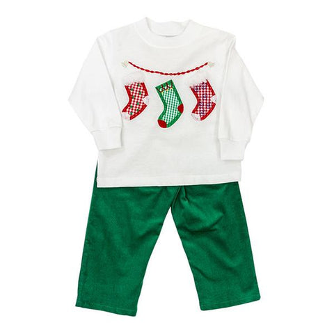 The Bailey Boys Stockings Pant Set