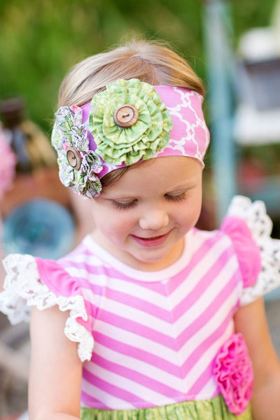 Giggle Moon Lilly of the Valley Knit Headband