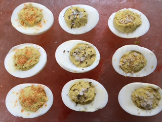 How to Make Deviled Eggs With Finishing Salts