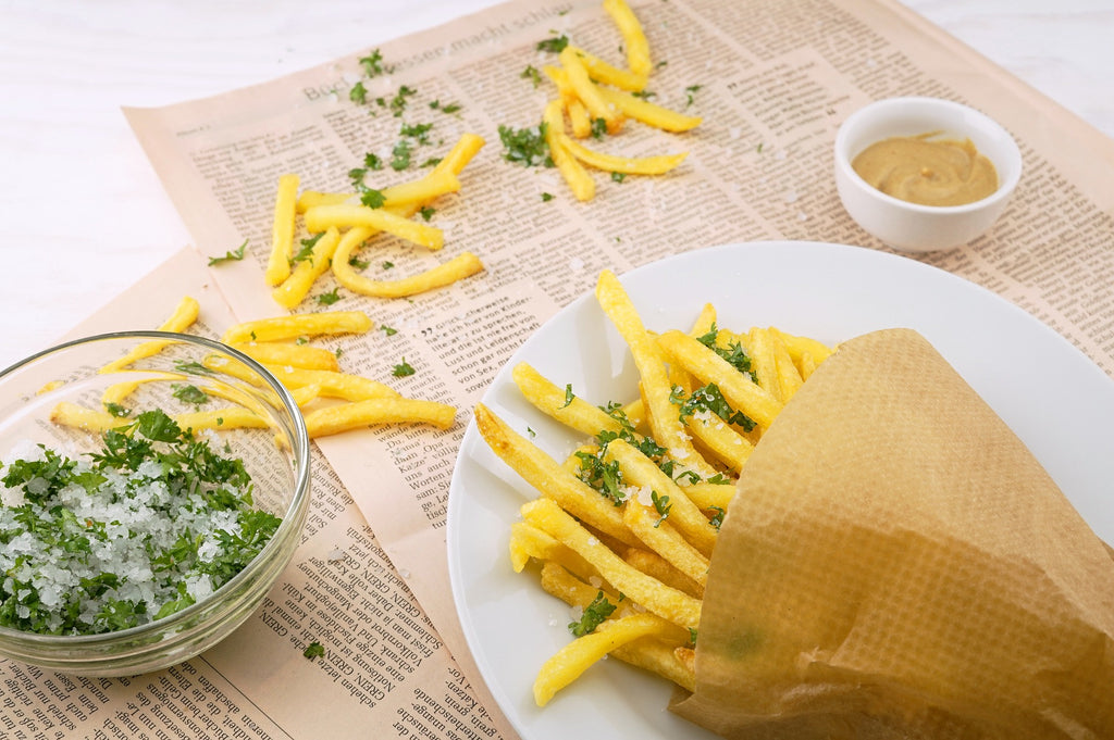 Flake Sea Salt and Parsley French Fries