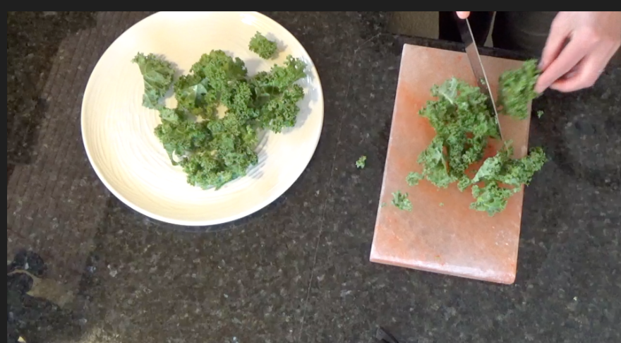 Quick and Easy Kale Chips with Sea Salt