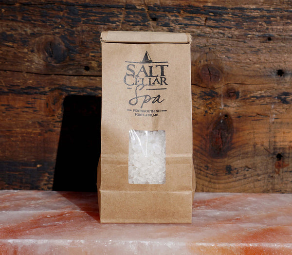 salt soak, aromatherapy, purifying bath soak, bath soak