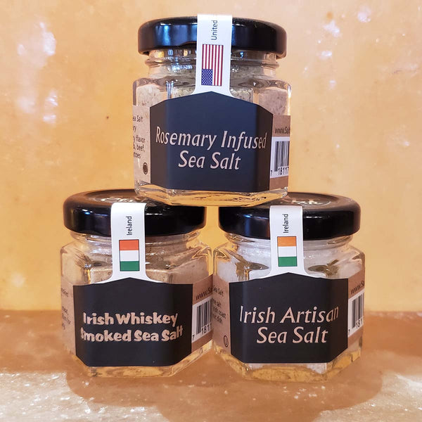 Irish Wake Salt Trio