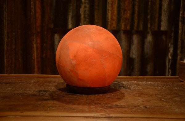 round salt lamp, Himalayan salt lamp, salt crystal