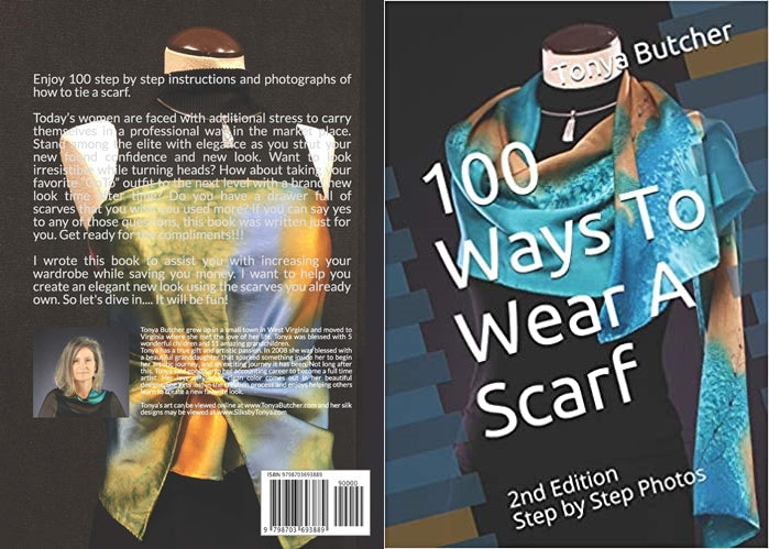 My New Book - 100 WAYS TO WEAR A SCARF