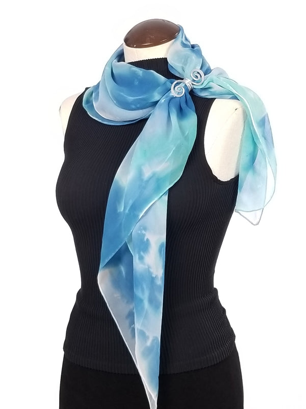 Day Dream - Hand Painted Silk Scarf