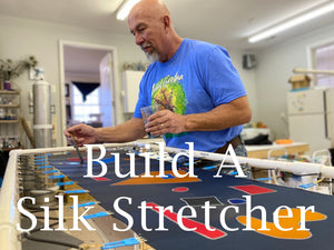 How to build a silk stretcher frame
