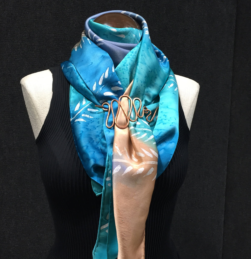 Video #21 Cowl Neck Wrap LG w/ Scarf Pin - Download Video