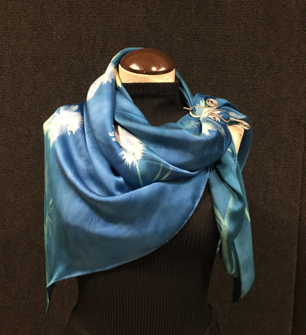 #13 Shoulder Shawl w/ Scarf Pin - Download Video