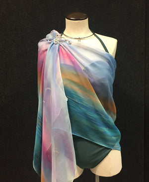 Video #92 Cruise Ready Wrap w/ Scarf Pin - Download Video