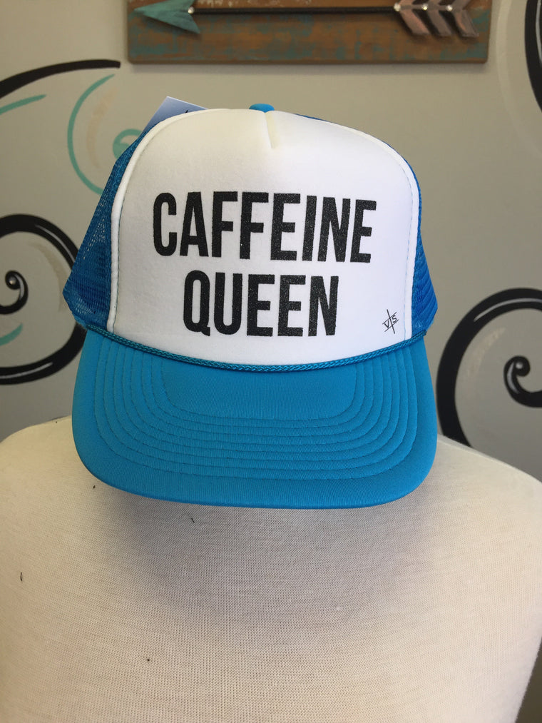 Caffeine Queen Trucker Hat