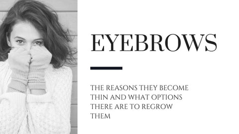 growing back your brows