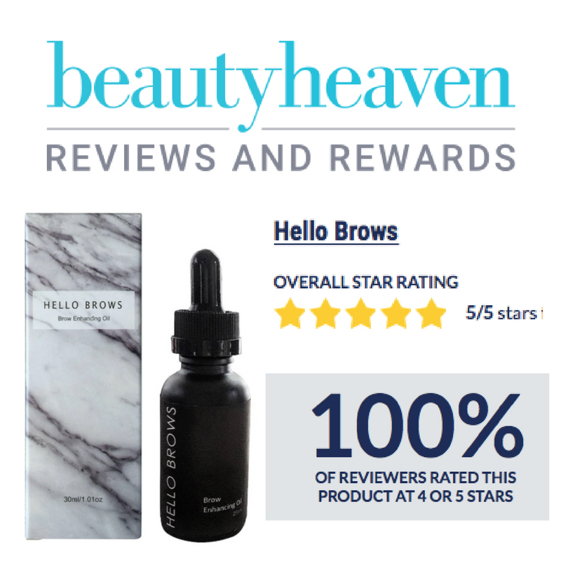 Brow Enhancing Oil -Regrow Eyebrows, hellobrows