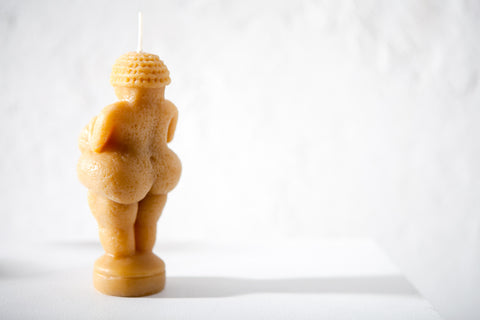 Venus of Willendorf Candle