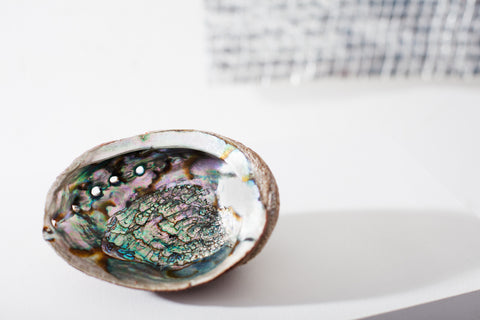 Opal Smudge Dish