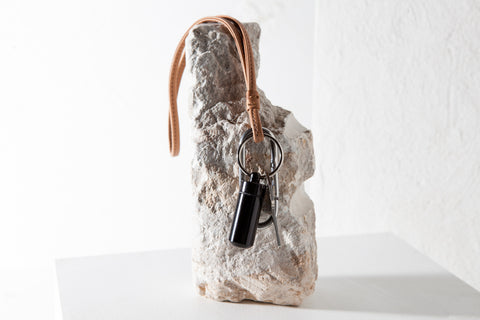 Traveler's Keychain - Saddle Leather