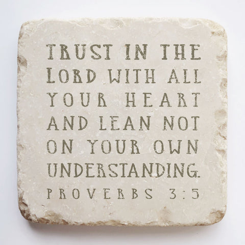 509 | Proverbs 3:5 - Twelve Stone Art