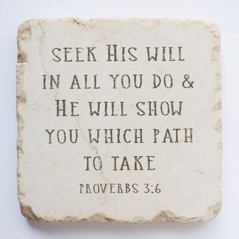 576 | Proverbs 3:6 - Twelve Stone Art