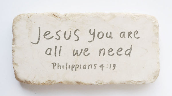 604 | Philippians 4:19 - Twelve Stone Art