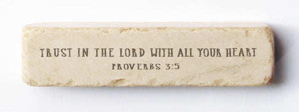 551 | Proverbs 3:5 - Twelve Stone Art